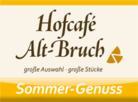 Hofcafe Altbruch Sommerflyer